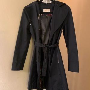 Women's Hooded Raincoat